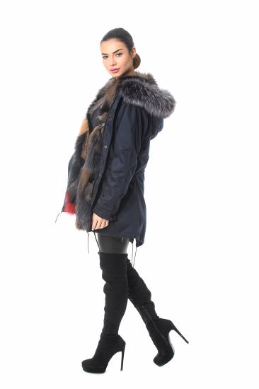 Parka fox fur